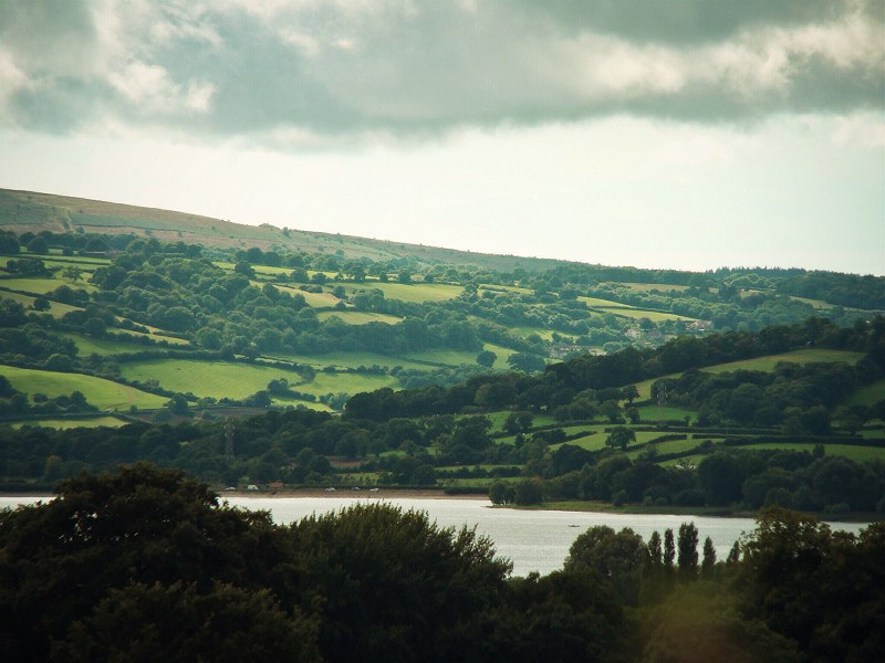 Chew Valley Lake and the Mendip Hills, Somerset